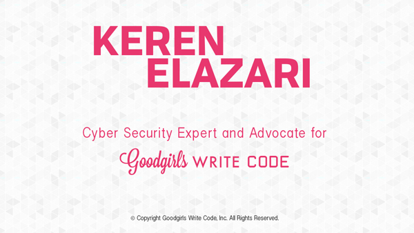Keren Elazari on the importance of encouraging young girls to become STEM Stars
